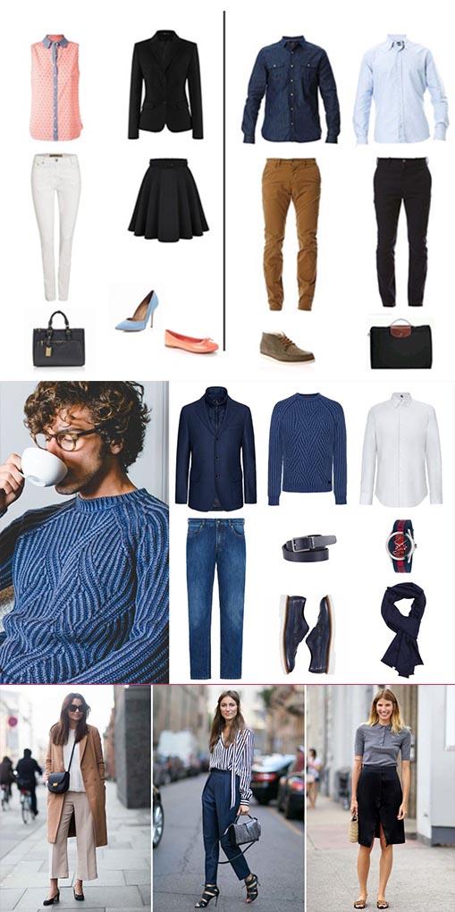 """Exemple de comment s'habiller pour un entretien avec un style """"Casual"""" chic"""