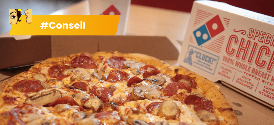 Domino's Pizza recrute des étudiants avec Jobmania
